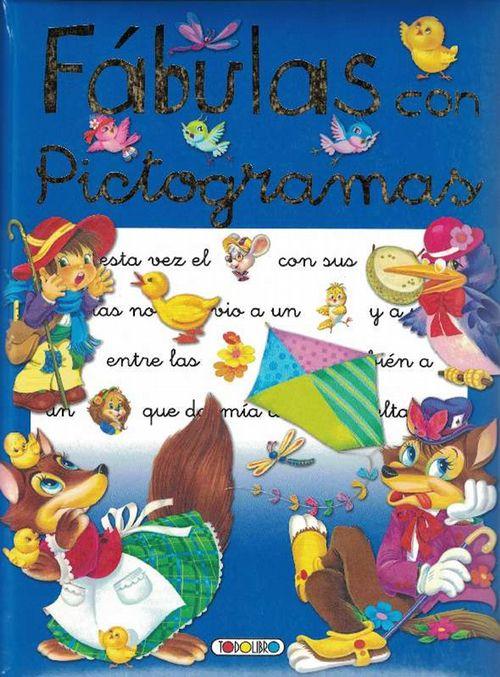 Fábulas con pictogramas. Edad: 7+. - Doblado (ed.), Ana y und Juan Vernet Gargall (il.)