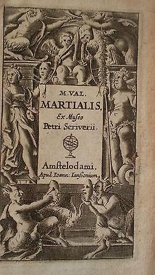 Martial M. Val Martialis, ex Museo Petri