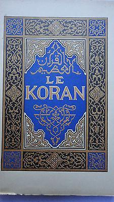 Coran Le Koran piazza exemplaire sur japon: La Librairie Antique