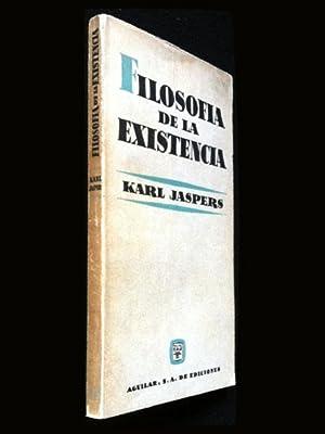 Filosofía de la existencia: Jaspers, Karl