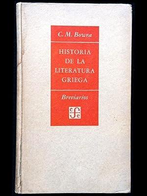 Historia de la literatura griega: Bowra, Cecile Maurice