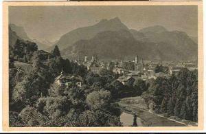 Ungelaufen Ansichtskarte Baden-baden