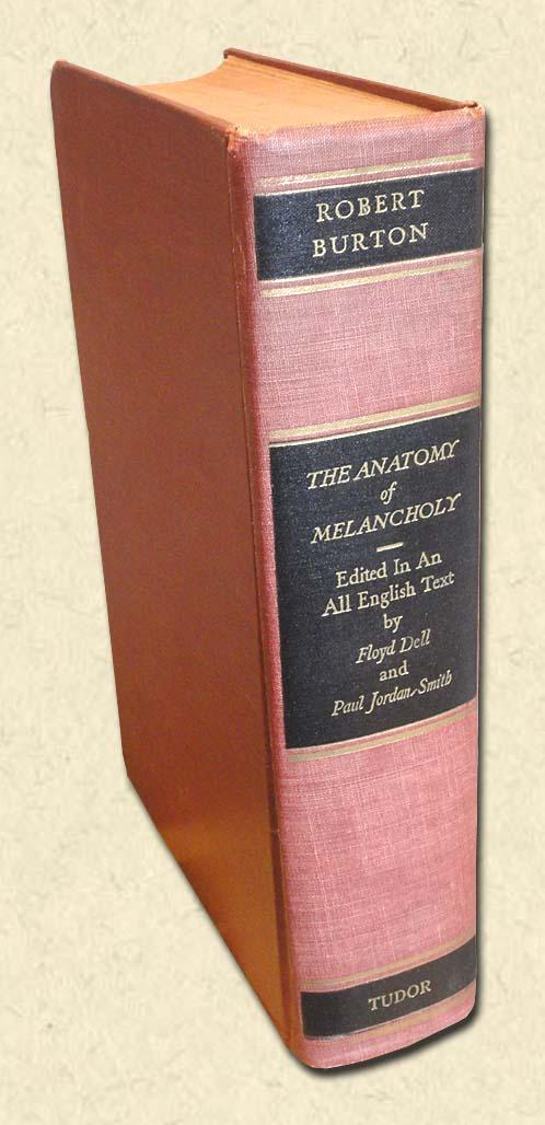 The Anatomy of Melancholy Now for the first time With the Latin ...