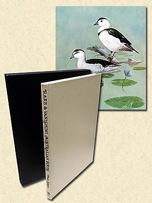 Rare and Vanishing Australian Birds - signed: Slater, Peter
