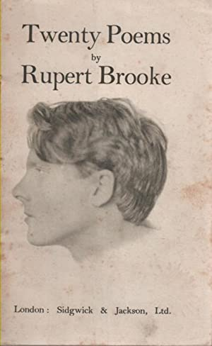 Collected Poems by Rupert Brooke, First Edition