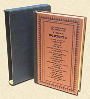 Cobbett's England - Folio Society edition A: Cobbett, William (John