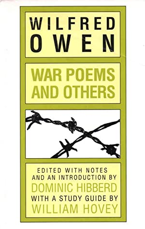 good wilfred owen notes Exposure by wilfred owen wilfred owen note the misery inherent in these few stanzas the soldiers have been beaten - not by the germans, but by the weather, the awful, crushing weather that has left them unable to fight.