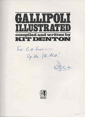 Gallipoli Illustrated: signed: Denton, Kit