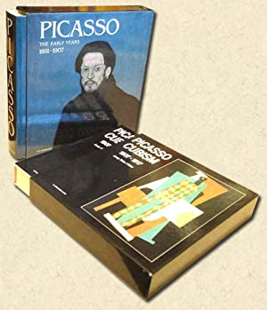 """Picasso - Two Slipcased Volumes """"The Early: Palau i Fabre,"""
