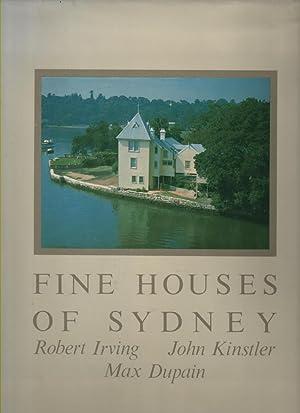 Fine Houses of Sydney: Irving, Robert; John
