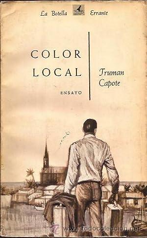 COLOR LOCAL: Capote, Truman