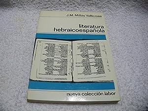 LITERATURA HEBRAICOESPAÑOLA: J. M. Millás