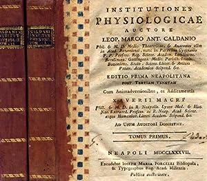 Institutiones Physiologicae / auctore Leop. Marco Ant.: Caldani Leopoldo Marco