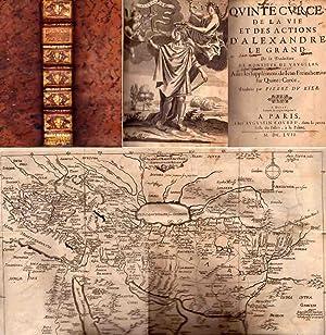 Quinte-Curce de la Vie et des Actions d'Alexandre le Grand: De Vaugelas - De Freinshemius Jean...