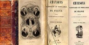 Chansons Nationales et Populaires de France, accompagnées de Notes historiques et littéraires - 2 ...