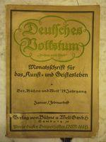 Deutsches Volkstum [Magazines]: Editor