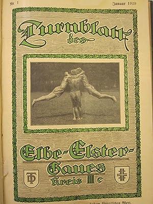 Turnblatt des Elbe Elster Haues [Magazines]: Editor
