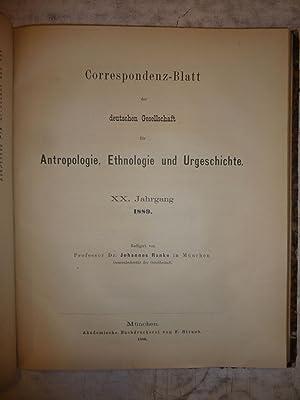 Archiv f?r Anthropologie zeitschrift [Magazines]: Editor