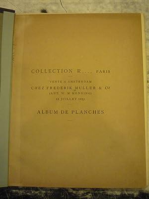Paris Vente Amsterdam Chez Freederik Muller & Cie Album De Planches [Magazines]: Editor