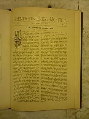 Brentano's Chess Monthly [Magazines]: Editor