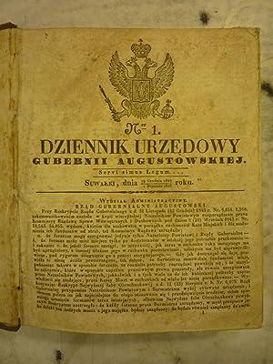 Dziennik urzedowy gubernii Augustowskiej [Magazines]: Editor