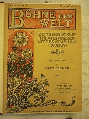 Buhne und Welt [Magazines]: Editor