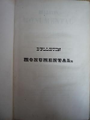 Bulletin Monumental ou Collection de Memoires [Magazines]: Editor