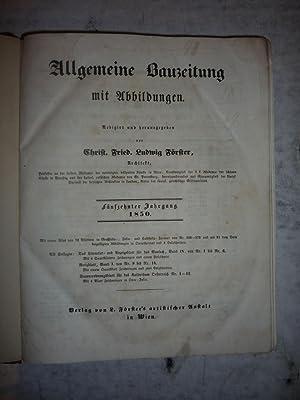 Allgemeine Bauzeitung mit Abbildungen [Magazines]: Editor