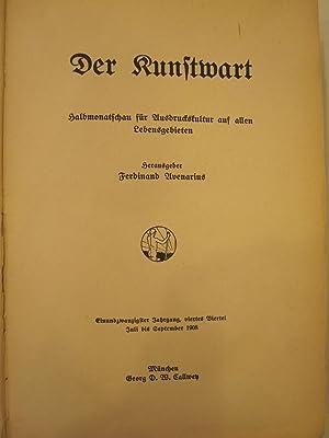 Der Kunstwart [Magazines]: Editor