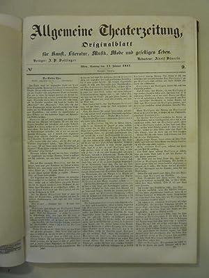 Allgemeine Theaterzeitung Originalblatt [Magazines]: Editor