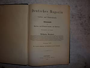Deutsches Magazin f?r Garten und Blumenkunde [Magazines]: Editor