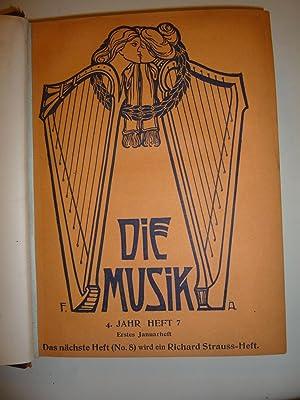Die Musik [Magazines]: Editor