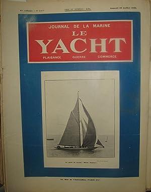 Journal de la marine: Le Yacht. Marine de guerre, marine du commerce [Magazines]: Editor
