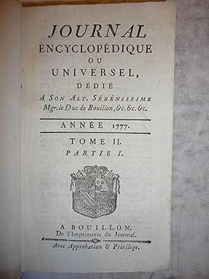 Journal Encyclopedique [Magazines]: Editor