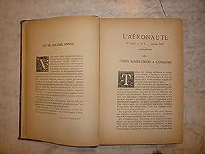 L'Aeronaute. Bulletin Mensuel Illustre de la Navigation: Editor