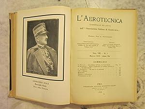 L'aerotecnica [Magazines]: Editor