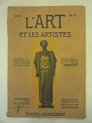 L'Art et Les Artistes [Magazines]: Editor