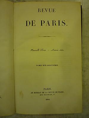 La Revue De Paris [Magazines]: Editor