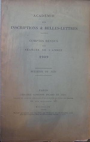 Comptes rendus des seances de l'Academie des Inscriptions et Belles [Magazines]: Editor