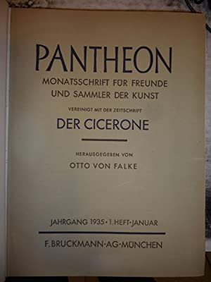 Pantheon [Magazines]: Editor