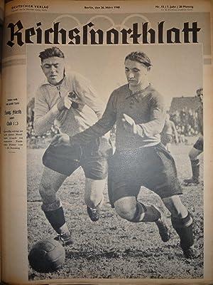 Reichssportblatt [Magazines]: Editor