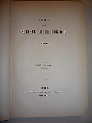 Societe Archeologique de Namur [Magazines]: Editor