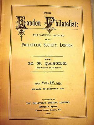 The London Philatelist [Magazines]: Editor