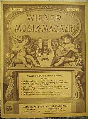 Wiener Musik- magazin [Magazines]: Editor
