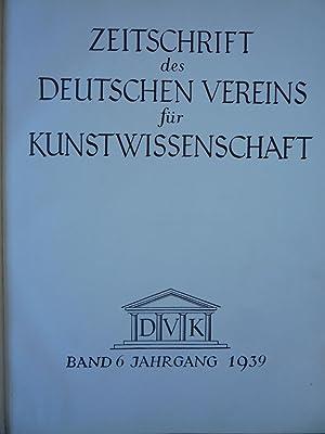 Zeitschrift des Deutschen Vereins Fur Kunst-Wissenschaft [Magazines]: Editor