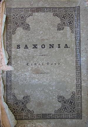 Saxonia Museum fur Sachsische Vaterlandskunde [Magazines]: Editor