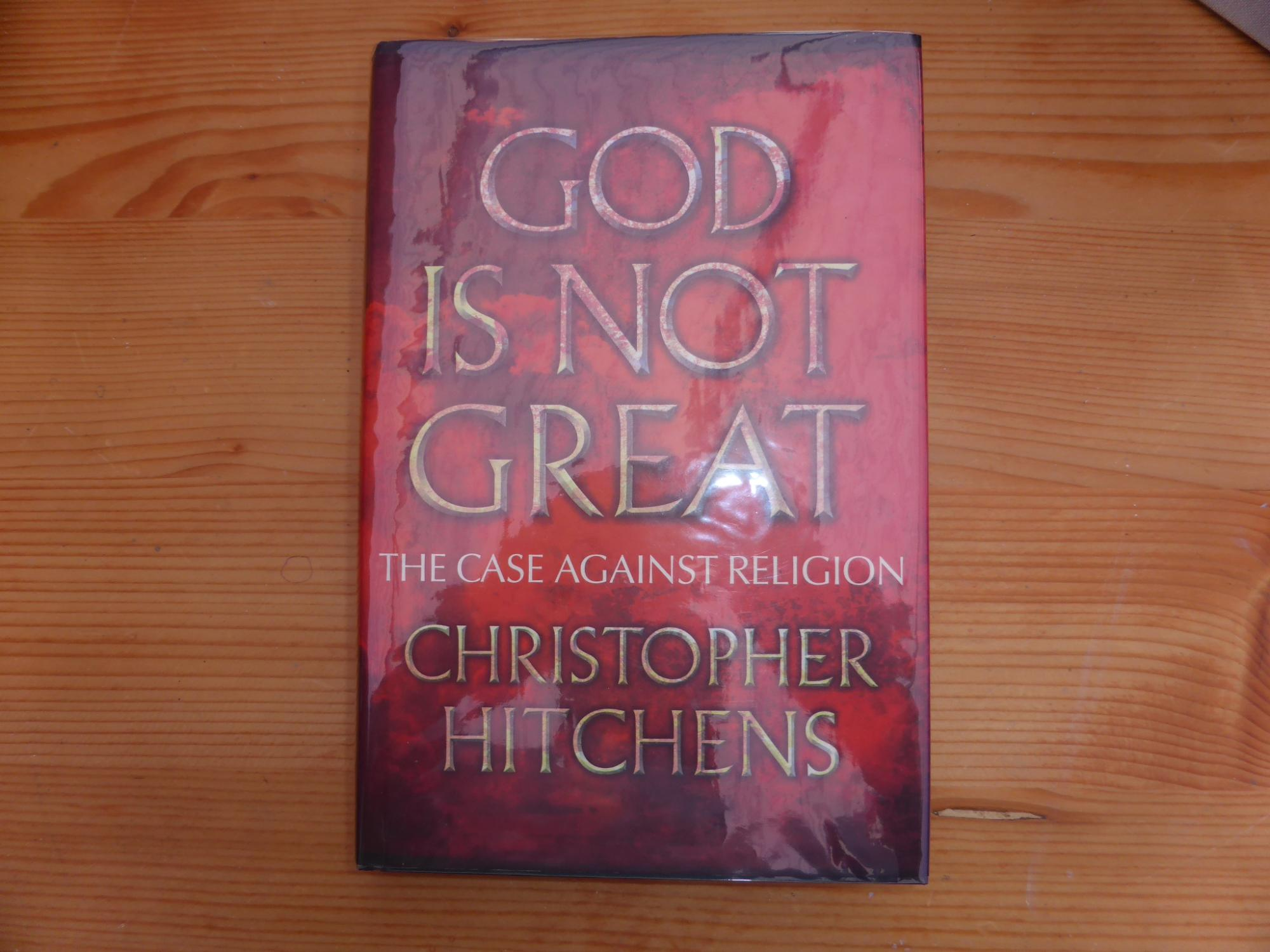 God Is Not Great: The Case Against Religion: Very Fine Signed { By Ian