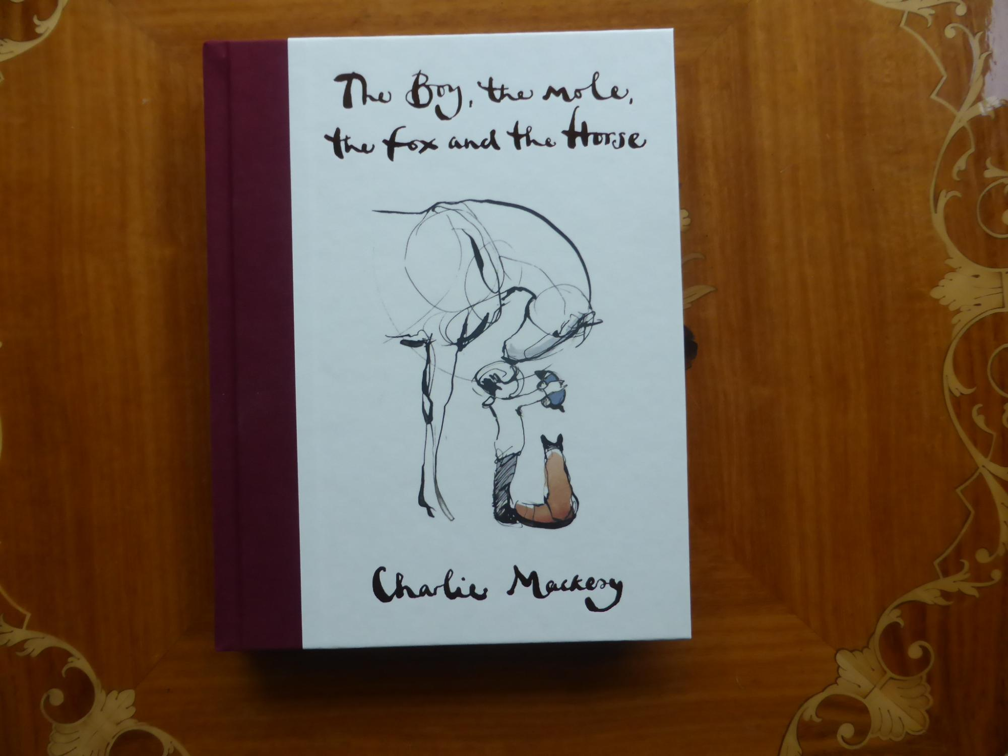 The Boy, the mole,the fox and the Horse : MINT SIGNED & PUBLICATION DAY DATED FIRST EXCLUSIVE EDITION Mackesy Charlie [New] [Hardcover] A mint first printing of the exclusive Waterstones edtion in superbly illustrated boards with maroon linen spine as originally issued. unread gift condition SIGNED and Publication Day DATED 28th Nov 2019 by Charlie Mackesy - his FULL signature not the shortened 'Charlie' he often uses. An outstanding copy of Waterstones Book of the Year and the Literary sensation of 2019. Complete numberline 10987654321 present. BOXED DESPATCH
