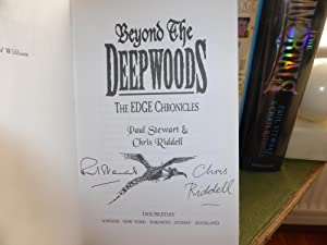 Beyond the Deepwoods The Edge Chronicles: COMPLETE VERY FINE SET OF DOUBLE SIGNED FIRST EDITIONS: ...