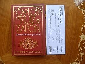 The Prince Of Mist: MINT SIGNED STAMPED: Zafon, Carlos Ruiz
